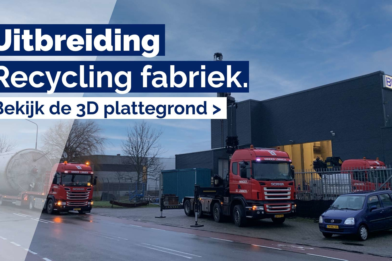 Uitbreiding recycling fabriek nieuwsartikel